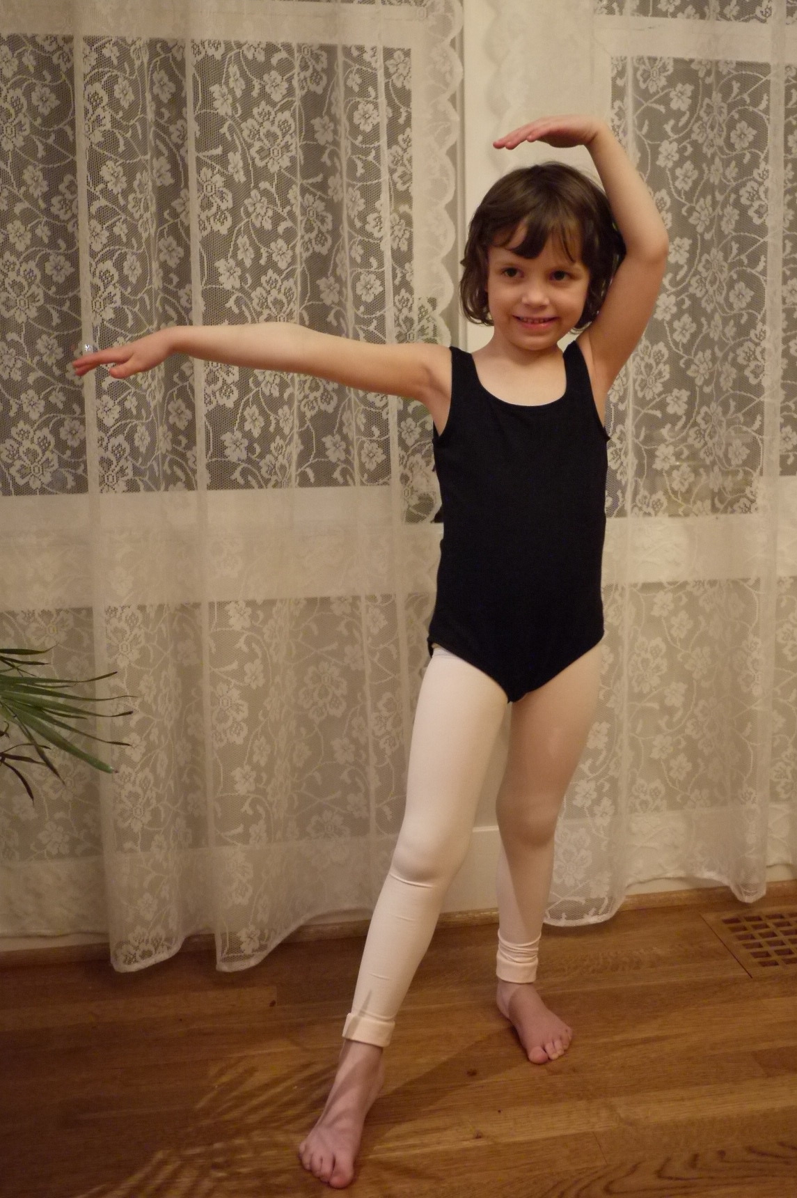daughter leotrad For Christmas this year, we bought dance lessons for our ballet obsessed  four year old daughter, and my husband managed to talk me into taking  lessons ...